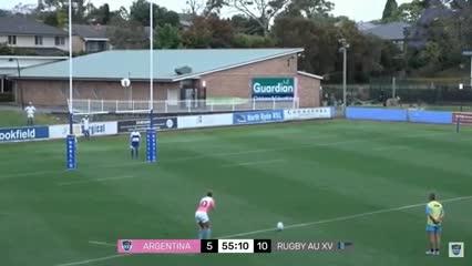 La victoria de Los Pumas sobre Australia XV
