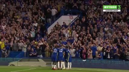 El gol de Werner contra Aston Villa