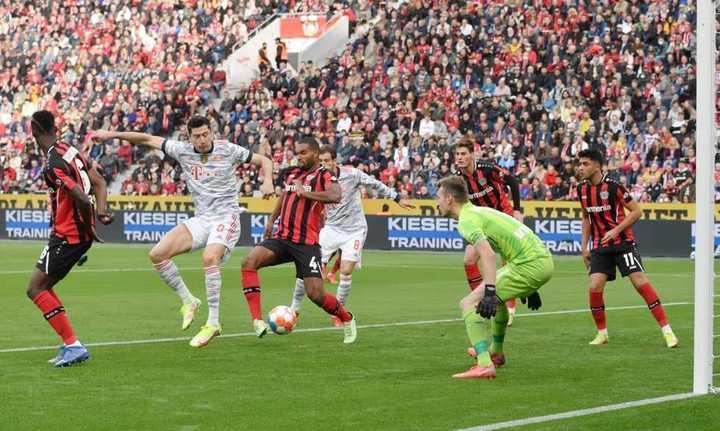 Lewandowski, taco y a cobrar: 1-0 del Bayern Munich al Leverkusen