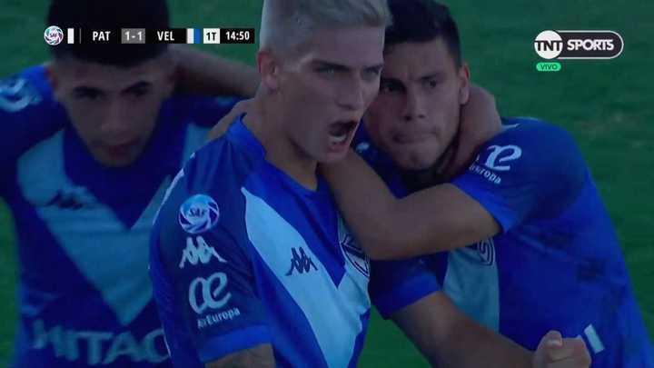 Domínguez empató para Vélez
