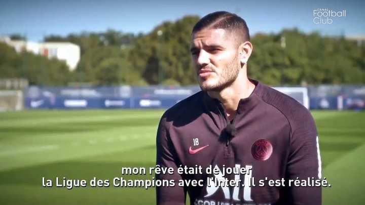 Mauro habló de su llegada el PSG