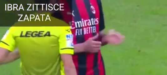 Ibrahimovic contra Duván Zapata