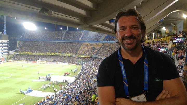 Periodista italiano asombrado de Boca