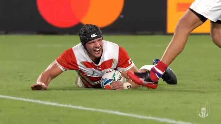 Japón derrotó a Rusia en el Mundial de rugby
