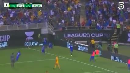 El 2-0 de Cruz Azul