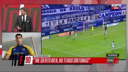 Andrada contó su situación desde Ecuador