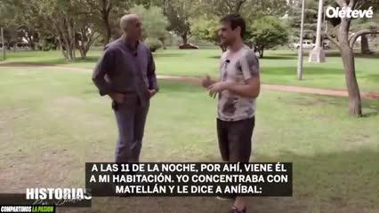 Bianchi le explica a Fagiani por qué no va a jugar la final de la Intercontinental