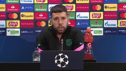 Jordi Alba habló sobre el futuro de Messi