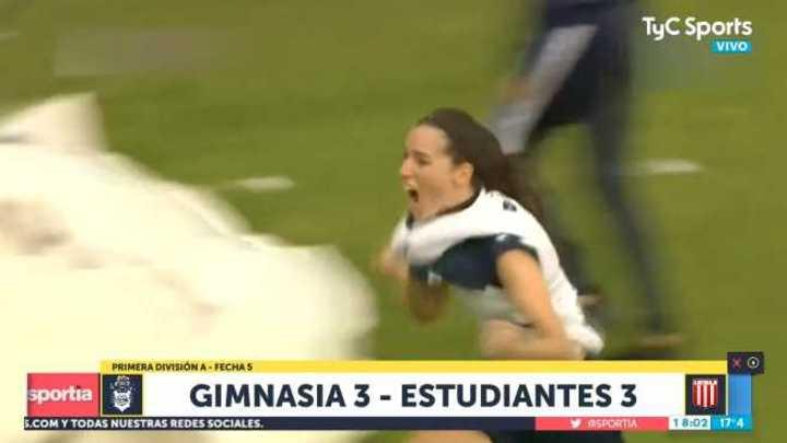 Gimnasia y Estudiantes empataron 3 a 3 en el Femenino