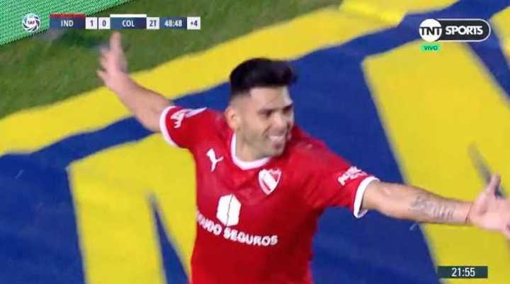 Romero liquidó el partido