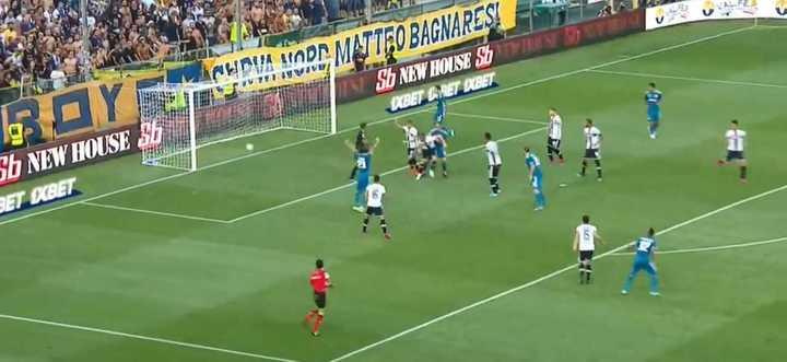 Chiellini abrió el marcador para la Juve