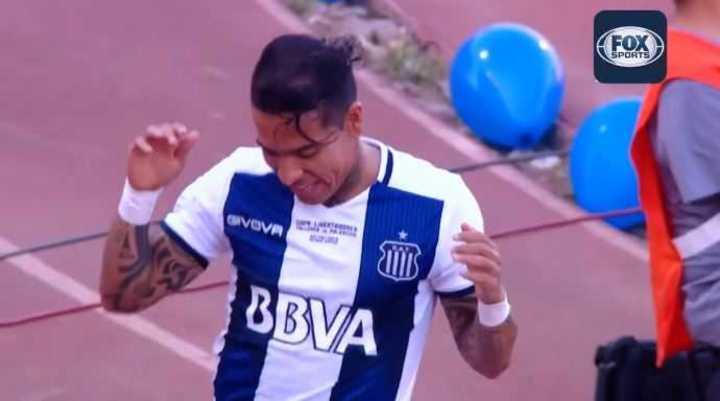 Moreno marcó el 1 a 0 de la T