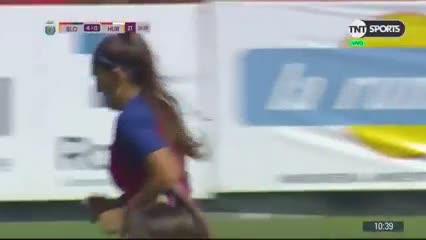 Débora Molina marcó el 4-0