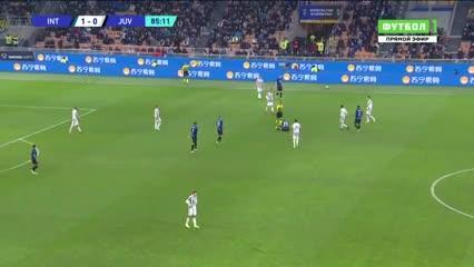 El empate de Inter-Juventus