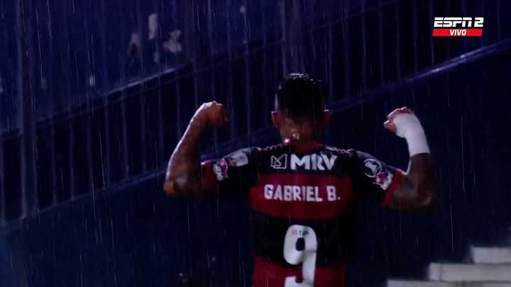 Gabigol empató el partido para el Flamengo