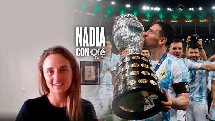 Podoroska y el título de Messi con Argentina