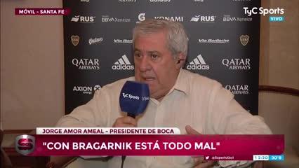 Ameal le pegó con todo a Bragarnik