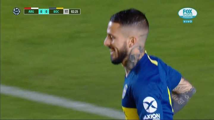 Benedetto desperdició una chance clara