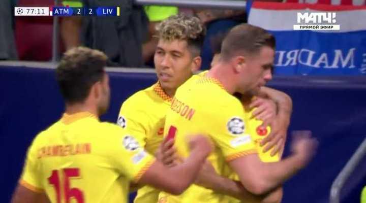Liverpool le ganó 3 a 2 al Aleti