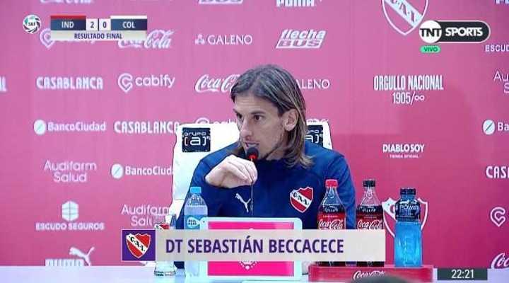 La palabra de Sebastián Beccacece