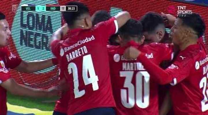 Romero marcó el 2 a 1