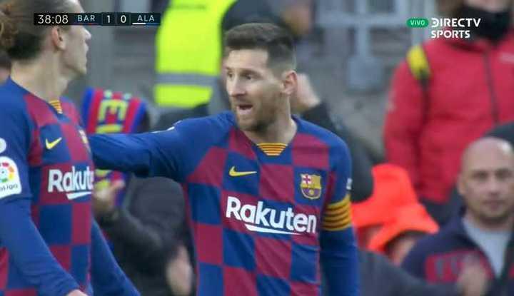 Messi estuvo cerca del segundo