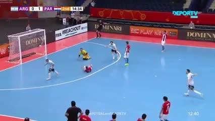 Los goles de Argentina 6 - Paraguay 1