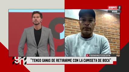 Clemente Rodríguez contó que sueña con retirarse en Boca