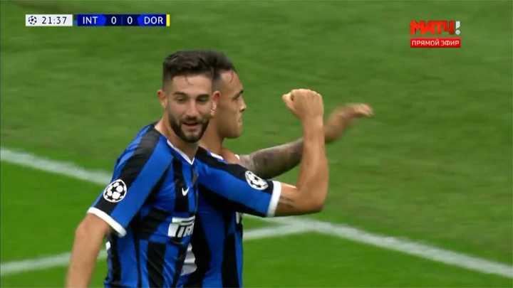 Lautaro Martínez marcó para el Inter