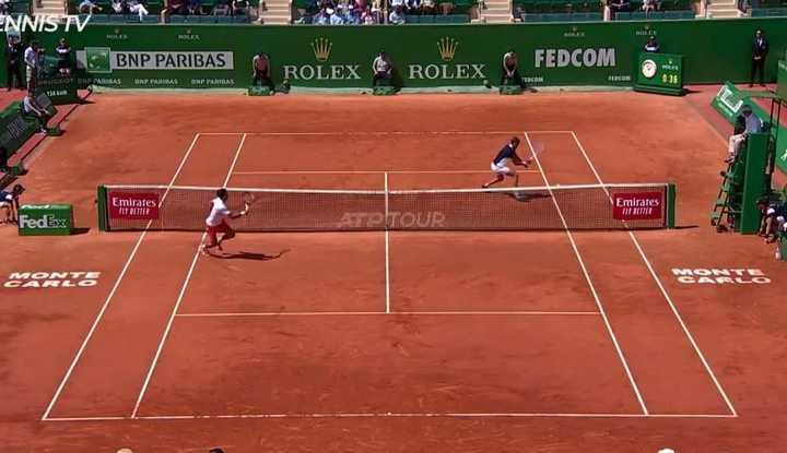 Puntazos de Medveded ante Djokovic