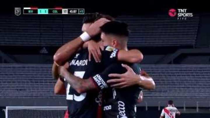 Bernardi empató el partido