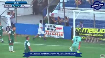 El 1-0 de San Martín (B) a Ituzaingó