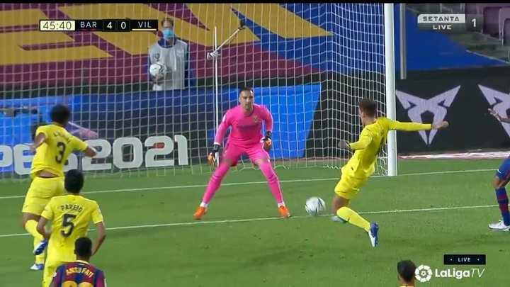Pau Torres marcó el cuarto en contra