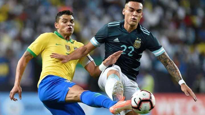 ¡40 faltas en Argentina - Brasil! Mirá el resumen de todas