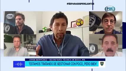 Bermúdez habló sobre Junior Alonso