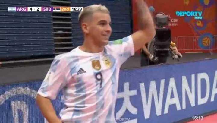 El resumen de Argentina 4 - Serbia 2