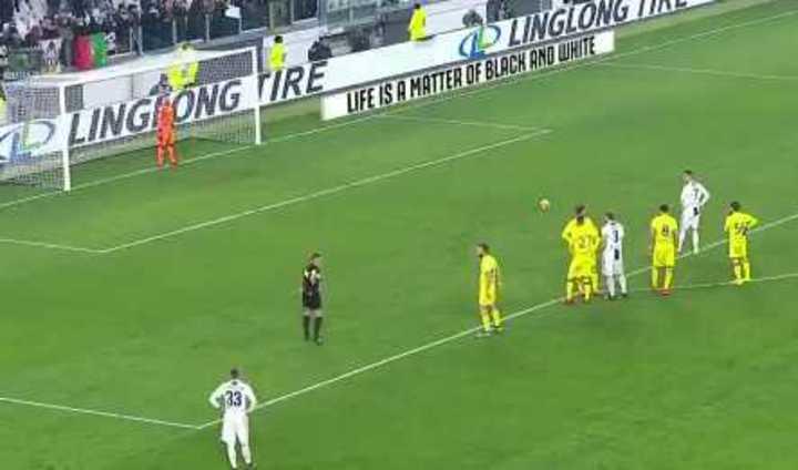 El penal fallado por Cristiano Ronaldo