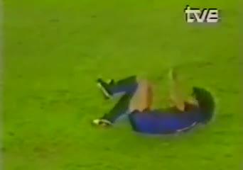 La lesión de Maradona