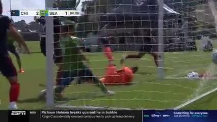Gol del Chicago Fire con asistencia de Gastón Giménez