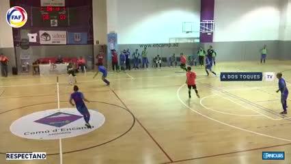 La consagración de Javier Saviola en Andorra