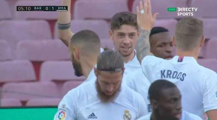 Golazo de Valverde para el Real