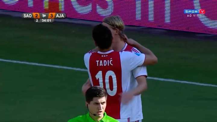 El Ajax, con lo justo contra San Pablo