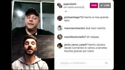 Scocco saludó a Maradona