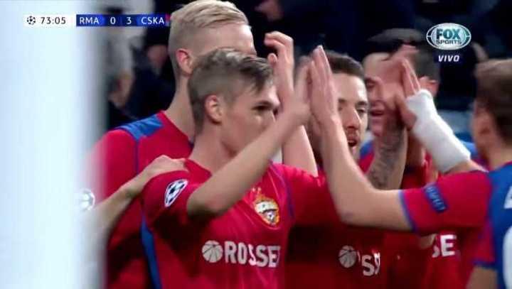 Llegó el 3 a 0 para el CSKA