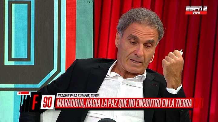 Ruggeri quebró en llanto al recordar a Maradona