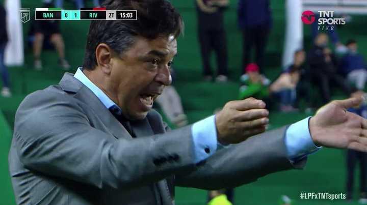 El gesto de Gallardo a Palavecino