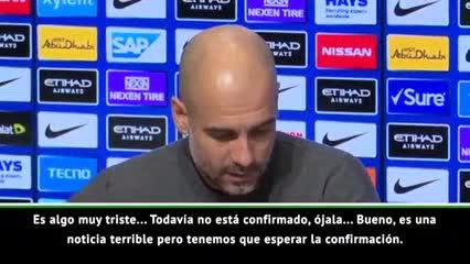 Guardiola habló de Sala