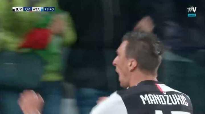 Mandzukic empató el partido