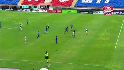 Palacios marcó el 1 a 0