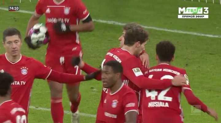 Bayern empató 3 a 3 con Leipzig